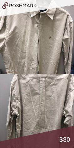 bf9220652508 Ralph Lauren Men's casual shirt Medium Like new, great quality men's casual  Ralph Lauren shirt. Beige color Ralph Lauren Shirts Casual Button Down  Shirts