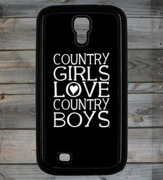 Country Girl ® Heart CB Galaxy S4 Phone Case/Cover  #CountryGirl #Samsung4 #Smartphone