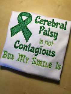 Hey, I found this really awesome Etsy listing at https://www.etsy.com/listing/227762030/cerebral-palsy-awareness-embroidered