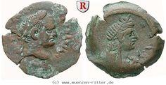 RITTER Ägypten, Alexandria, Vespasianus, Isis #coins