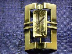 Elis Kauppi, vintage silver brooch with quartz, 1966. | eBay.com #Finland