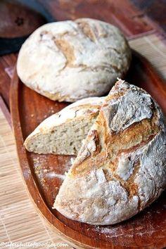 Bauernbrot mit Hefe - Life Is Full Of Goodies - Ruccola Salat Rezepte salat rezepte Bread Oven, Yeast Bread, Vegetarian Breakfast Recipes, Best Meat, Fresh Bread, Morning Food, Grilling Recipes, Bread Recipes, Goodies