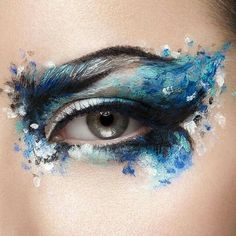 Striking Beauty Photography by Ben C. & Nata Inevatkina Striking Beauty Photography by Ben C. Creative Eye Makeup, Eye Makeup Art, Eye Art, Cute Makeup, Pretty Makeup, Makeup Inspo, Makeup Inspiration, Design Inspiration, Makeup Ideas