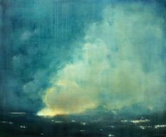 Fire at Night - Clare Kirkconnell