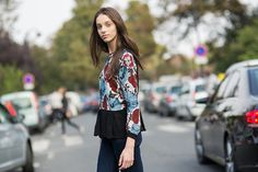 How To Street Style: STYLE BY MODELS