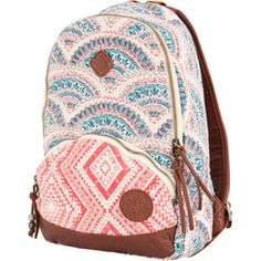 ROXY Great Day Backpack. Love the way it looks like it is from antrhopologie or lucky brand.