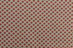 Vintage Cotton Fabric Fruit Fabric Apple Fabric by #TheFabricScore www.thefabricscore.etsy.com  #sewing #quilting #crafts #diy