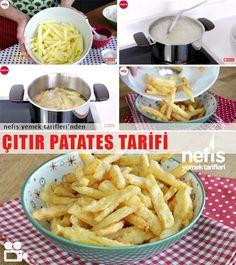 Videolu anlatım Çıtır Patates Kızartması Tarifi nasıl yapılır? 29.999 kişinin defterindeki bu tarifin videolu anlatımı ve deneyenlerin fotoğrafları burada. Yazar: Elif Atalar