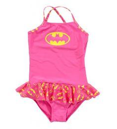 Batman Skirted 1 Piece Toddler Girls Bathing Suit (Toddler 2T) DC Comics http://www.amazon.com/dp/B00KQSNKVC/ref=cm_sw_r_pi_dp_DCSXtb007P4CS2G6