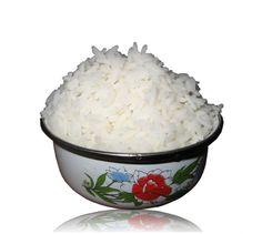 Cómo cocer el arroz blanco en el microondas