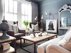 Don't let decorating your living room turn into a disaster. Turn it into a space you love with these expert tips. >> http://www.hgtv.com/design-blog/design/not-sure-how-to-decorate-your-living-room--we-can-help?soc=pinterest