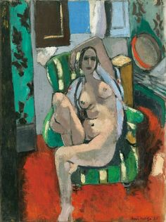 """Henri Matisse - """"What I dream of is an art of balance."""" - - Henri Matisse Odalisque with a Tambourine Oil on canvas x cm… Henri Matisse, Matisse Kunst, Matisse Art, Art And Illustration, Illustrations, Pablo Picasso, Figure Painting, Painting & Drawing, Life Drawing"""