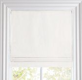 Cotton Canvas Cordless Roman Shade (also in linen canvas) - Restoration Hardware