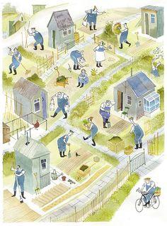 'Allotments' by Bob Dewar