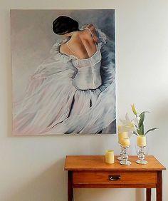 Ballerina painting Agata Mikulska-Sienkiewicz