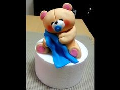In this video tutorial series, I will show you how to make a Forever Friends bear topper out of fondant. This video shows how to make the head. For more idea...