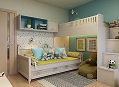 Проект детской комнаты для квартиры. #работы_desartdecor