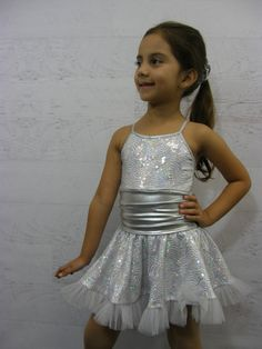 This beautiful dance costume could be use for tap or Jazz for recital or competition on Etsy, $95.00