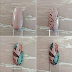 Red Acrylic Nails, Autumn Nails, Love Nails, Tutorial, Art Ideas, Girly, Nail Art, Tips, Trends