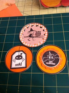Coming soon to the The Little Blue House board: Tin can lids! So that you can make some fabulous holiday crafts!