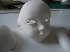 La doll clay parts by Silent Friends, via Flickr