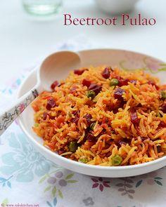 beetroot-pulao recipe