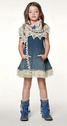 ALALOSHA: VOGUE ENFANTS: TWIN-SET GIRLS by Simona Barbieri SS2013