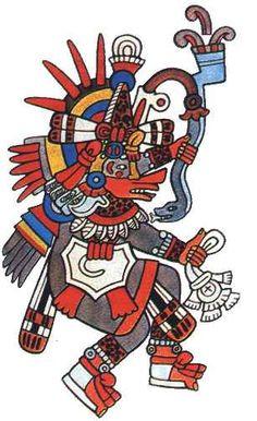 HUEHUECOYOTL Aztec Coyote God