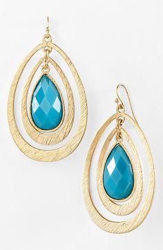 These teardrop earrings in every color please
