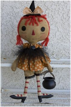 witchy poo raggedy annie