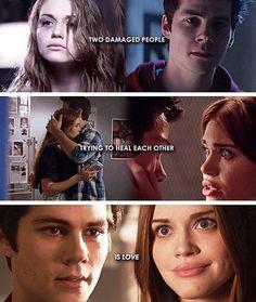 #TeenWolf - Stiles and Lydia - Stydia