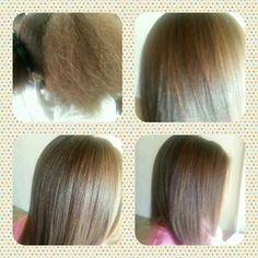 Neutral hair press for kids