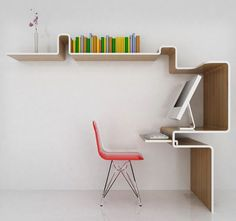 Awesome Work Space Design Inspirations : Smart Work Space Designs For Small Room