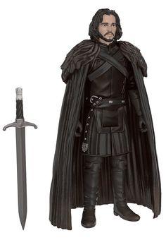 Figura Jon Nieve (Jon Snow) 10 cm. Juego de Tronos. Línea non-retro. Funko  Estupenda figura articulada del personaje llamado Jon Nieve (Jon Snow) de 10 cm de altura, de la línea non-retro, fabricada en material de PVC y 100% oficial y licenciada visto en la exitosa serie de TV Juego de Tronos.