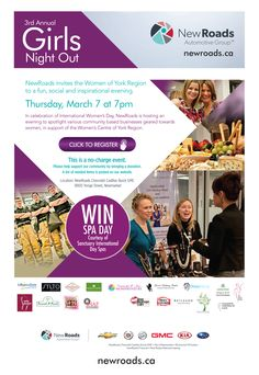 3rd annaul Newroads Automotive Group Girls Night Out Thursday March 7th 2013.