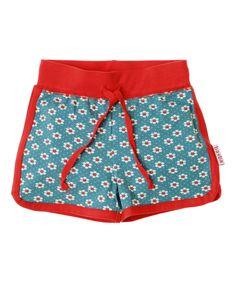 Baba Babywear super cool blue flower printed shorts. baba-babywear.en.emilea.be