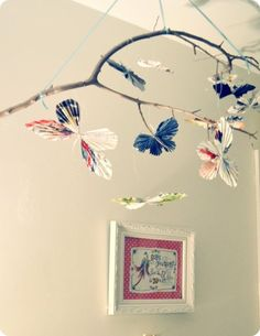 10 amazing diy paper butterfly mobile for winter days - Fashion Blog