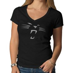 Panthers Women s Brand Scrum T-Shirt  42 Panthers Game 05c6f995c