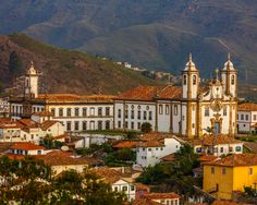 10 patrimônios mundiais para conhecer no Brasil - Guia do Turista- cidade histórica de Ouro Preto MG