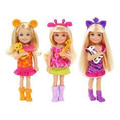 Barbie Destination Safari Chelsea Dolls Case