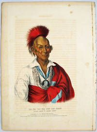 [Plate] MA-KA-TAI-ME-SHE-KIA-KIAH Or Black Hawk A Saukie Brave. [From HISTORY OF THE INDIAN TRIBES OF NORTH AMERICA] By [Native American]; McKenney Thomas L. And James Hall - Used Books - 1838] - from Buddenbrooks, Inc. and Biblio.com