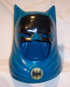 My first official Batman Cowl.....got it when I was 9 years old and it was way too big for my head. I wore it....and wore it out anyway.