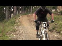HOW TO MOUNTAIN BIKE: World's Best Downhill Mountain Bike Lesson-great techniques for downhill and cross-country #mountainbiking.