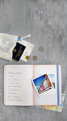 Start your next adventure with this gorgeous printed Make Your Mark Travel Jorunal