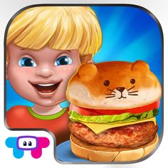 Download IPA / APK of Burger Crazy Chef  Make Your Own Funny Hamburger for Free - http://ipapkfree.download/8539/