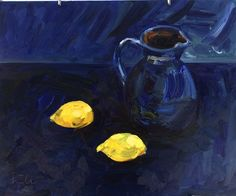 irina iza still life with lemon
