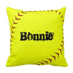 Retro Acid Smiley Yellow Throw Pillow - Cushion for the home, bedroom, living room Yellow Throw Pillows, Decorative Throw Pillows, Fastpitch Softball, You Are My Sunshine, Designer Throw Pillows, Pillow Talk, Inspirational Gifts, Cushions, Yellow