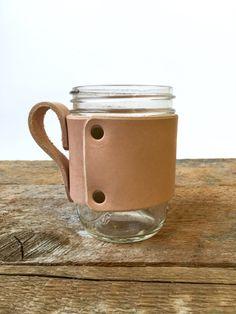 Cuir Mug Wrap prêt à l'enveloppe de navire par littlewingsdesigns