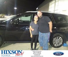 Thank you for a beautiful vehicle. It is going to be great for the family. - Taylor and Ashley Southern #HappyCustomers