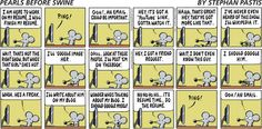 Pearls Before Swine does procrastination